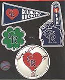 Colorado Rockies 4 Piece Team Magnet Set