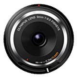 Olympus M.Zuiko 9mm F8.0 Fisheye Body Cap Lens BCL-0980 for Micro Four Thirds Cameras