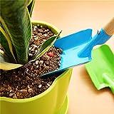 7thLake 4pcs Flower Potted Mini Shovel Plant Flower Multifunctional Small Gardening Tools
