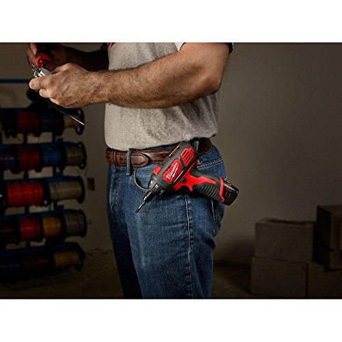 Milwaukee M12 12-Volt Lithium-Ion 1/4 in. Hex Cordless Screwdriver Kit | Hardware Power Tools for Your Carpentry Workshop, Machine Shop, Construction or Jobsite Needs by Milwaukee (Image #5)