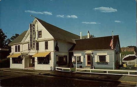 Mary Jane Restaurant Bar Harbor Maine Original Vintage Postcard At