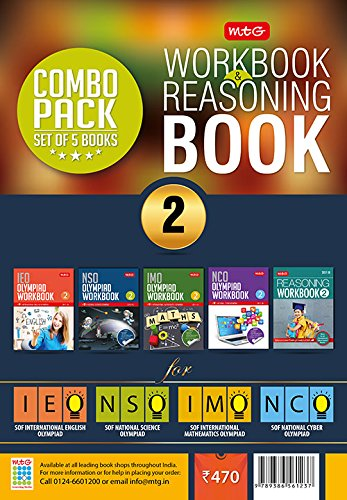 Class 2: Work Book and Reasoning Book Combo for NSO-IMO-IEO-NCO ebook