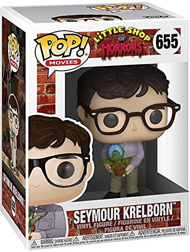 Funko Pop Bundled with Pop Box Protector Case Seymour Krelborn Vinyl Figure Movies: Little Shop of Horrors