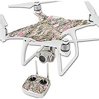 MightySkins Protective Vinyl Skin Decal for DJI Phantom 4 Quadcopter Drone wrap cover sticker skins TrueTimber Mc2 Pink