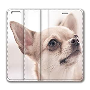Brian114 6 Case, iPhone 6 Case - Ultra Slim Folio Flip Leather Case for iPhone 6 Chihuahua Special Edition Leather Wallet Cover for iPhone 6 4.7 inch by mcsharks