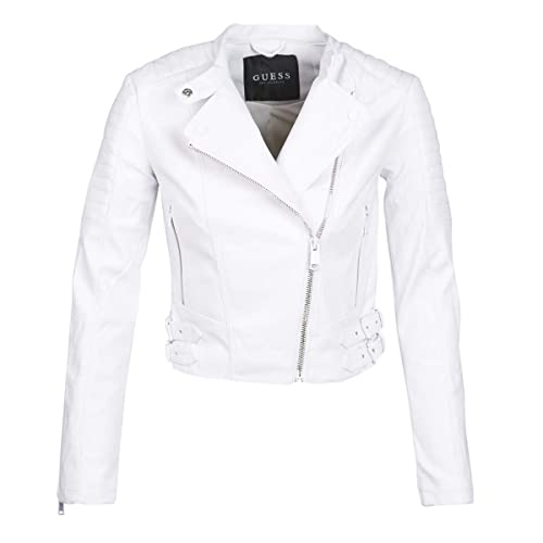 Guess - Chaqueta - para Mujer, Color Blanco, Talla X-Small ...