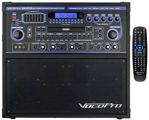 VocoPro Gig Star Professional CD Karaoke System by VocoPro