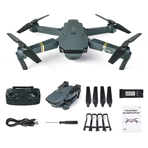 Cinhent Quadcopter, L800 2.4G HD Camera WIFI FPV Selfie 6 Axis RC RTF Drone, 10.63 x 7.68 x 1.97'', Radio Control Helicopter 4 Channels Toys With Foldable Arms for Kids Adults Outdoor Gifts by Cinhent Quadcopter