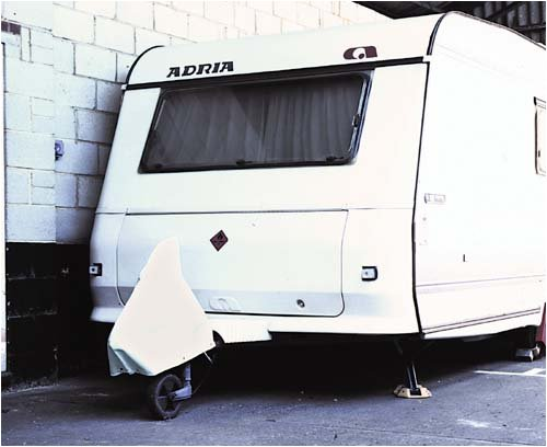 W4 Caravan Hitch Cover protects /& improves appearance