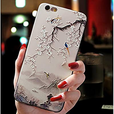 Amazon.com: KCHHA Phone case 3D Emboss TPU Cases for Samsung ...