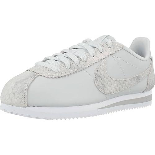 Nike Classic Cortez Premium - Zapatillas Mujer - Beige, 40 1/2: Amazon.es: Zapatos y complementos