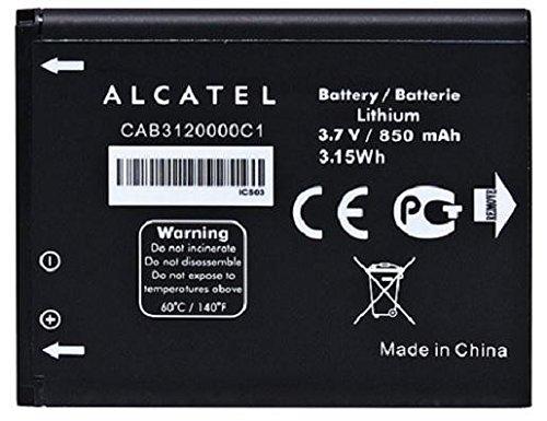 New OEM Alcatel CAB3120000C1 510A OT-800 OT-880a OT-710D Original Battery (Bulk Packaging) ()