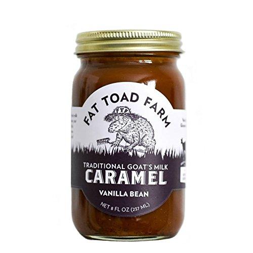 Fat Toad Farm Classic Caramel Jar, Vanilla Bean, 8oz, Goat's Milk, Cajeta, Gluten-Free