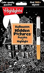Halloween Hidden Pictures® Puzzles to Highlight (Highlights™ Hidden Pictures® Puzzles to Highlight Activity Bo