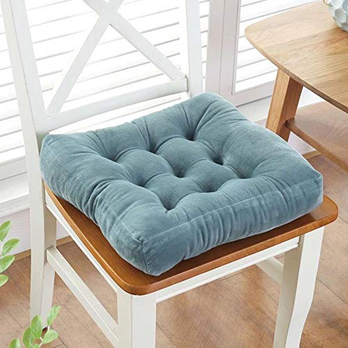 TaraCreations Thicken Velour Patio Chair Pads Indoor Office Home Kitchen Square Dining Chair Cushion ()