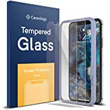 Caseology for iPhone XS Screen Protector [Tempered Glass with Guide Frame] - Easy Installation Scratch Resistant Screen Protector for iPhone XS 5.8 (2018) / iPhone X (2017) - 2 Pack