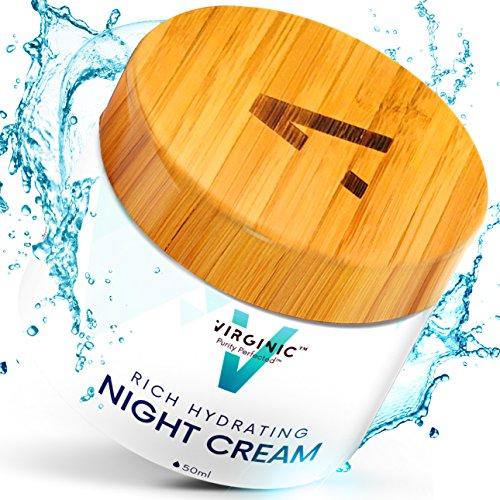Night Face Cream Anti Aging Skin Moistruizer Best Facial Wrinkle Care Pure Deep Beauty Feels Great