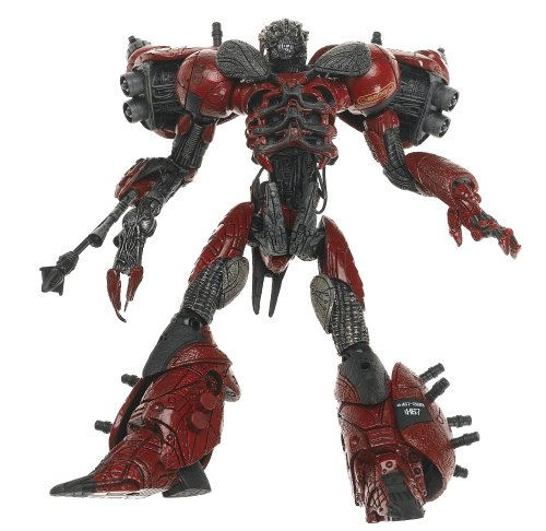 (Cyber Units Ultra Action Figure: Defender Unit 001 - Red)