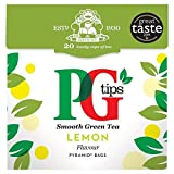 PG tips Lemon Green Tea 20s Pyramid Teabags 20 per pack by Pg Tips