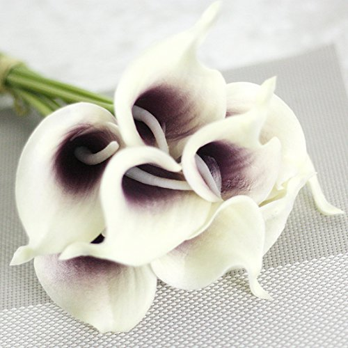 SMYLLS-Calla-Lily-Bridal-Wedding-Bouquets-with-Latex-Look-Like-RealEco-friendly-Odourless-Artificial-Flowers-Christmas-Home-Decoration12-Purple-White