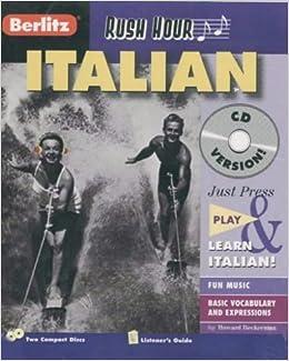 Italian Rush Hour CD Berlitz