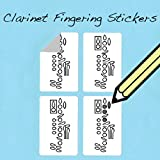 Clarinet Fingering Stickers (250 Sticker Pack) Free Shipping At Check Out!