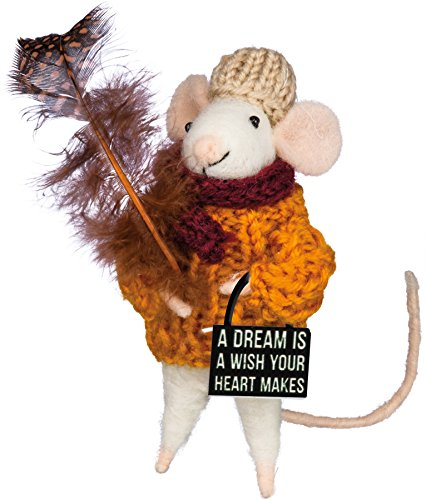 Box Sign Mouse A Dream is a Wish Your Heart Makes Primitives by Kathy