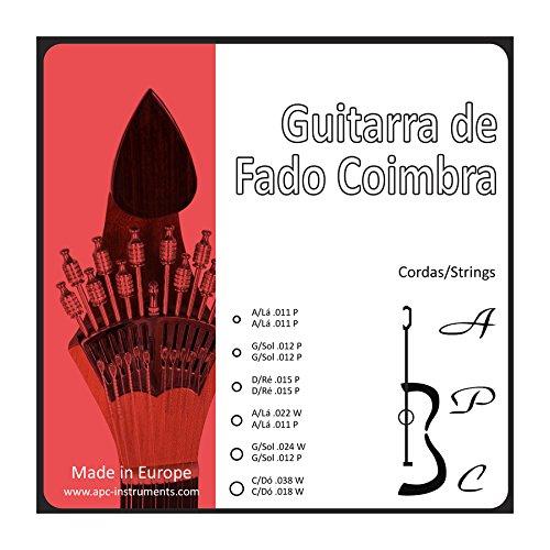 APC CORGF CB - Cuerdas para Instrumento:Guitarra Fado Coimbra: Amazon.es: Instrumentos musicales