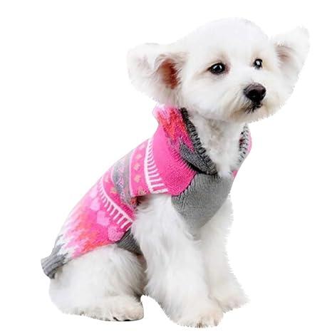 Rawdah_Mascota Ropa para Perros Peque?os Abrigos Camiseta Jerseyss Perro Mascotas Ropa Sudadera con Capucha