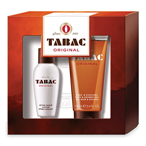 Mäurer & Wirtz Tabac Original Gift Set 1.7oz (50ml) After Shave + 3.4oz (100ml) Shower Gel