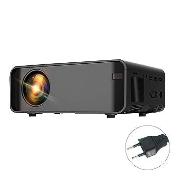 UHAoo 1080P HD Mini WiFi Proyector de Vídeo Proyector Portátil ...