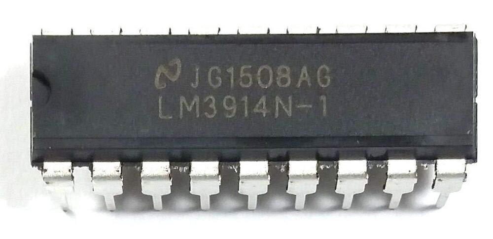 National Semiconductor LM3914N-1 LM3914 - Display Driver DIP-18 New IC 5PCS