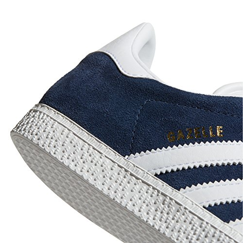 Baskets Bleu Noir ftwr Chaussures Navy Rose Low Femme top Sneaker Adidas White Gazelle EBX11w
