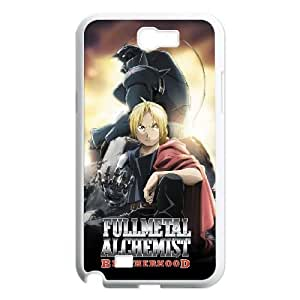 SamSung Galaxy Note2 7100 phone cases White FULLMETAL ALCHEMIST fashion cell phone cases UTRE3313454