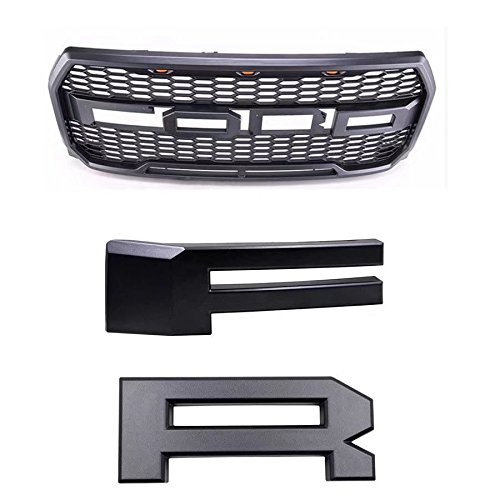 Outlet Raptor Style Abs Mesh Grille Replacement Converion For 05 07 Ford Super Duty F 250 F 350 Stellarcarpets Com