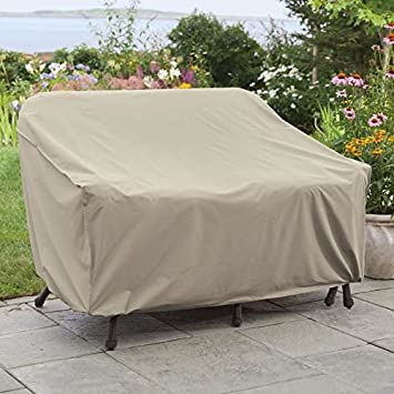 weather wrap wicker loveseat cover