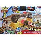 Fisher-Price GeoTrax Disney/Pixar Toy Story 3 Remote Control Exploding Bridge Train Set