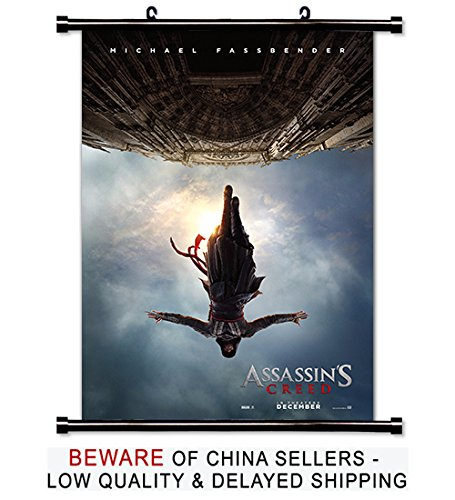 Assassin's Creed 2016 Movie Fabric Wall Scroll Poster