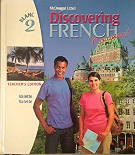 Amazon discovering french nouveau student edition level 2 discovering french nouveau blanc level 2 teachers edition fandeluxe Gallery