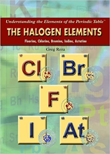 the halogen elements fluorine chlorine bromine iodine astatine understanding the elements of the periodic table greg roza 9781435835566 - Periodic Table Halogens