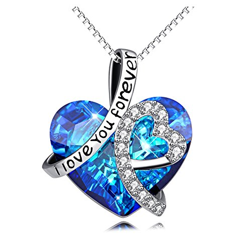 """Sterling Silver """"I Love You Forever"""""""