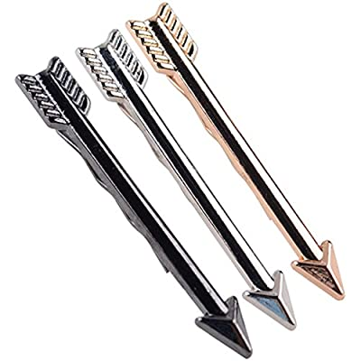 ForHe Men Fashion Arrow Tie Bars Pin Clasp Accessories For Wedding Business Suit Tie