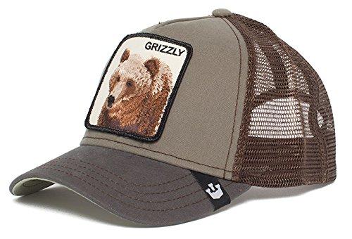 2275c8593ca Goorin Bros. Grizz Trucker cap olive  Amazon.de  Bekleidung