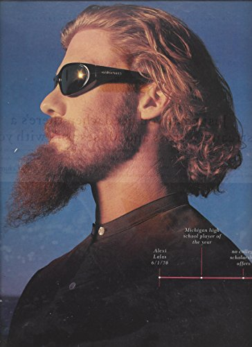Ball Gargoyle (PRINT AD For 1997 Gargoyles Performance Eyewear With Soccer's Alexi Lalas)