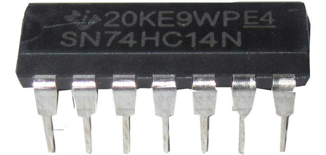 SN74HC14N 74HC14 HEX SCHMITT-Trigger Inverter IC DIP-14 Texas Instruments