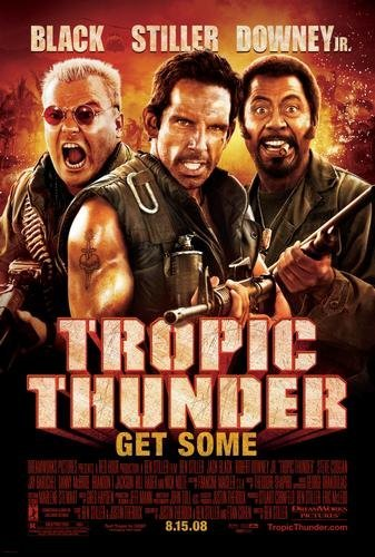 Image result for Tropic Thunder movie poster