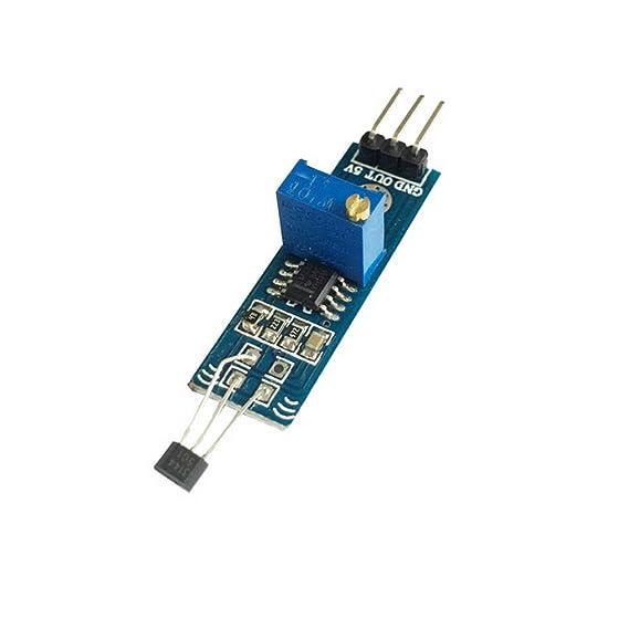 LM393 3144 Hall Sensormodul DC 5V für Ihr DIY Projekte Sensor Module Blau