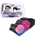 Ohuhu Mascara Brushes 300 Pcs, Disposable Eye Lash Eyebrow Eyelash Brushes Mascara Wands