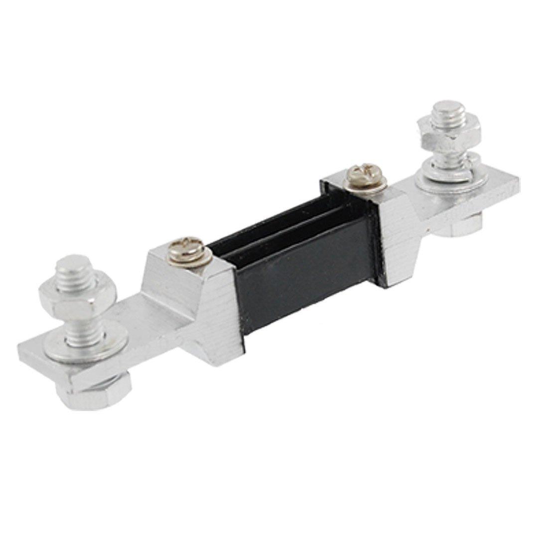 Amp Ammeter DC 300A 75mV Current Measure Shunt Resistor