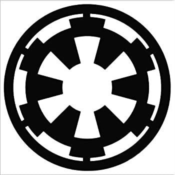 star wars galactic empire vinyl decal window. Black Bedroom Furniture Sets. Home Design Ideas